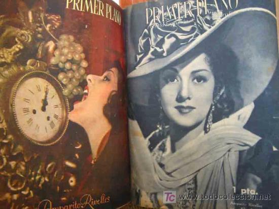 Cine: PRIMER PLANO, REVISTA ESPAÑOLA DE CINEMATOGRAFÍA (34 revistas). 1942/44 - Foto 3 - 13390713