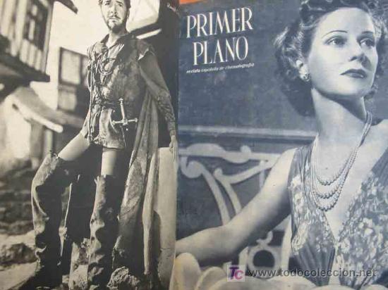 Cine: PRIMER PLANO, REVISTA ESPAÑOLA DE CINEMATOGRAFÍA (34 revistas). 1942/44 - Foto 2 - 13390713