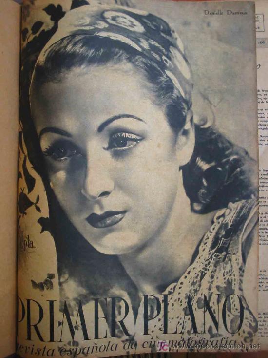 PRIMER PLANO, REVISTA ESPAÑOLA DE CINEMATOGRAFÍA (34 REVISTAS). 1942/44 (Cine - Revistas - Primer plano)