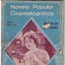 Cine: NOVELA POPULAR CINEMATOGRÁFICA. Nº 10. Lote 10089153