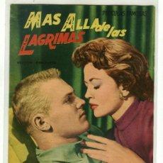 Cine: REVISTA CINEMATOGRAFICA - MÁS ALLA DE LAS LAGRIMAS. Lote 10415386