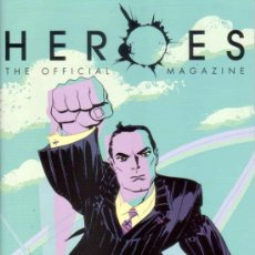 Cine: HEROES MAGAZINE VOL.1 # 2 (TITAN PUBLISHING,2008) - PREVIEWS EXCLUSIVE VARIANT COVER. Lote 25061467