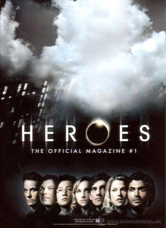 Cine: HEROES MAGAZINE VOL.1 # 1 (TITAN PUBLISHING,2007) - PREVIEWS EXCLUSIVE VARIANT COVER - Foto 1 - 25061468