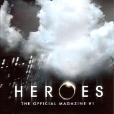 Cine: HEROES MAGAZINE VOL.1 # 1 (TITAN PUBLISHING,2007) - PREVIEWS EXCLUSIVE VARIANT COVER. Lote 25061468