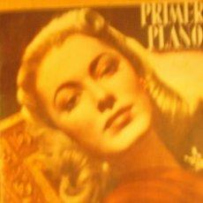 Cine: PRIMER PLANO SPANISH MAGAZINE ELEANOR PARKER + THURMAN BEY + MANOLETE + RAY MILLAND + ESTHER WILLIAM. Lote 10498979