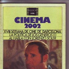 Cine: CINEMA 2002 N•22 EL PUENTE ALFREDO LANDA. Lote 20152157