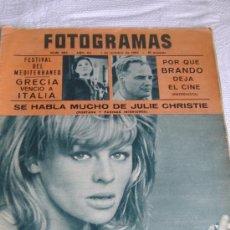 Cine: REVISTA FOTOGRAMAS Nº 885, AÑO 1965, PORT. JULIE CHRISTIE. Lote 27266031