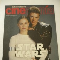 Cine: STAR WARS ESPECIAL CINEMANIA VOL 1 EL ATAQUE DE LOS CLONES .EPISODIO II.. Lote 18986083
