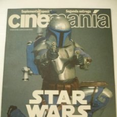 Cine: STAR WARS ESPECIAL CINEMANIA VOL 2 EL ATAQUE DE LOS CLONES .EPISODIO II.. Lote 18986087