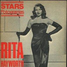 Cine: RITA HAYWORTH - STARS FOTOGRAMAS - AÑOS 80. Lote 10948250