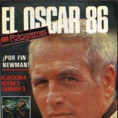 Cine: EL OSCAR 86 EN FOTOGRAMAS. POR FIN NEWMAN. Lote 10948441