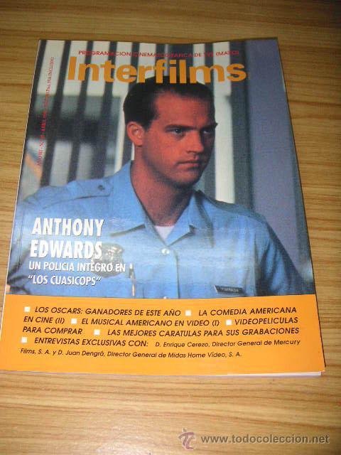 INTERFILMS Nº 20. ABRIL 1990. (Cine - Revistas - Interfilms)
