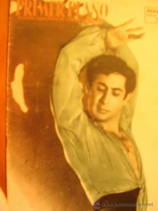 REVISTA PRIMER PLANO-JUAN MORILLA, MARIA DULCE, ANA MARISCAL 1952 Nº602 (Cine - Revistas - Primer plano)