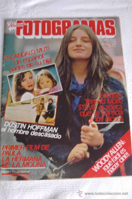 NUEVO FOTOGRAMAS Nº 1628 ENERO 1980, PORT. PAULA MOLINA (Cine - Revistas - Fotogramas)