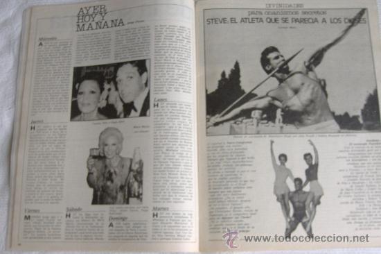 Cine: nuevo fotogramas nº 1628 enero 1980, port. paula molina - Foto 3 - 26237262