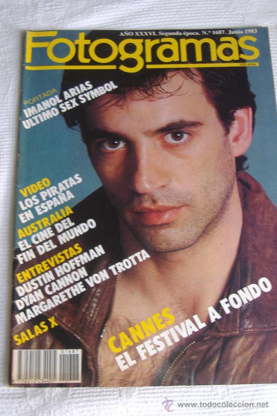 REVISTA FOTOGRAMAS Nº 1687, JUNIO 1983, PORT. IMANOL ARIAS (Cine - Revistas - Fotogramas)
