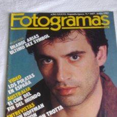 Cine: REVISTA FOTOGRAMAS Nº 1687, JUNIO 1983, PORT. IMANOL ARIAS. Lote 27608588