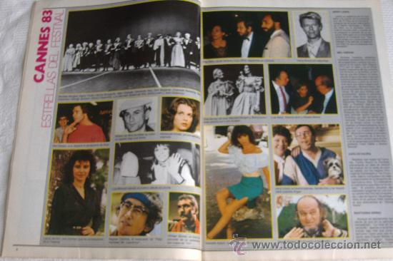 Cine: revista fotogramas nº 1687, junio 1983, port. imanol arias - Foto 2 - 27608588
