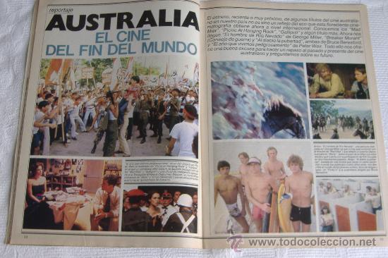 Cine: revista fotogramas nº 1687, junio 1983, port. imanol arias - Foto 4 - 27608588