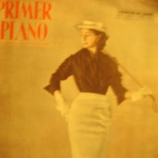 Cine: PRIMER PLANO SPANISH MAGAZINE ASUNCION DE SANDE 1953 Nº662 (GARY COOPER + GENEVIEVE PAGE +. Lote 11207687