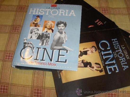LA GRAN HISTORIA DEL CINE DE TERENCI MOIX 70 NºS CARPETA. REGALO HISTORIA CINE ESPAÑOL GUÍA DEL OCIO (Cine - Revistas - La Gran Historia del cine)