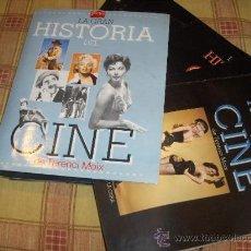 Cine: LA GRAN HISTORIA DEL CINE DE TERENCI MOIX 70 NºS CARPETA. REGALO HISTORIA CINE ESPAÑOL GUÍA DEL OCIO. Lote 11291958