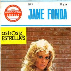 Cine: REVISTA DE CINE ASTROS Y ESTRELLAS JANE FONDA Nº 3. Lote 11386976