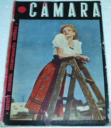 CAMARA -- Nº 56 - 1945 (Cine - Revistas - Cámara)