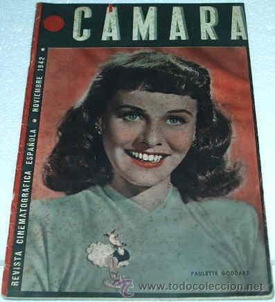 CAMARA -- Nº 14 - 1942- ORIGINAL - LEER TODO (Cine - Revistas - Cámara)