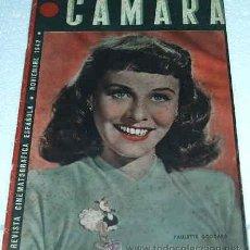Cine: CAMARA -- Nº 14 - 1942- ORIGINAL - LEER. Lote 11521839