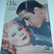 Cine: EL CINE --Nº 14 - 1934- ATRÁS JOAN CRAWFORD- ORIGINAL - IMPORTANTE LEER DESCRIPCION Y ENVIO. Lote 11521875