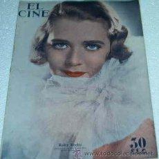Cine: EL CINE -- Nº 19 - 1934-ORIGINAL BUEN ESTADO- GARY GRANT - LEER DESCR.Y ENVIO. Lote 11521931