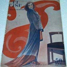 Cine: EL CINE -- 21 ABRIL 1932- ORIGINAL EN BUEN ESTADO - LEER DESCR.Y ENVIO. Lote 11521946