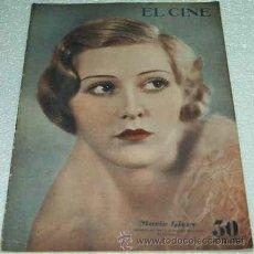 Cine: EL CINE -- Nº 21 -- 1933- ORIGINAL BUEN ESTADO-LEER DESCR. Y ENVIO. Lote 11521954