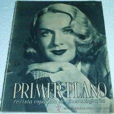 Cine: PRIMER PLANO -- Nº 121 -- 1943 - ORIGINAL BUEN ESTADO - LEER. Lote 15290092
