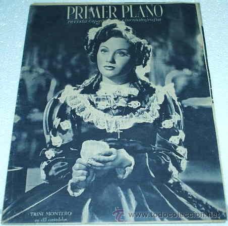 PRIMER PLANO -- Nº 162 -- 1943 - ORIGINAL BUEN ESTADO- LEER TODO Y ENVIOS (Cine - Revistas - Primer plano)