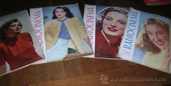 RADIOCINEMA -AÑO 1948- Nº 149-150-151 153-- (Cine - Revistas - Radiocinema)