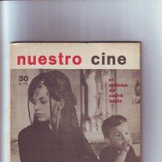Cine: NUESTRO CINE FESTIVAL DE CANNES 1984. Lote 11553466