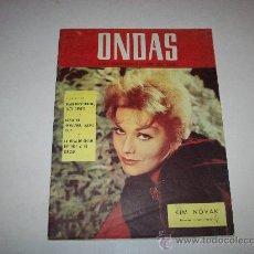 Cine: ONDAS Nº 309 – PORTADA KIM NOVAK. Lote 25785854