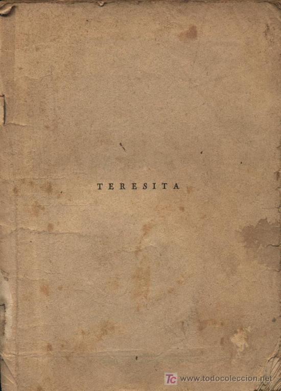TERESITA. LA NOVELA SEMANAL CINEMATOGRÁFICA. EDICIONES BISTAGNE (Cine - Revistas - Otros)