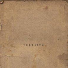Cine: TERESITA. LA NOVELA SEMANAL CINEMATOGRÁFICA. EDICIONES BISTAGNE. Lote 11750206