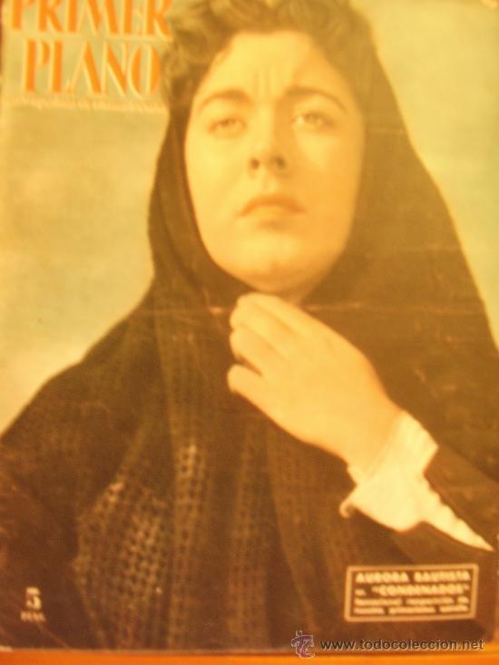 PRIMER PLANO SPANISH MAGAZINE AURORA BAUTISTA 1953 Nº683 (Cine - Revistas - Primer plano)