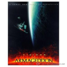Cine: LIBRO VISIONS OF ARMAGEDDON A MICHEL BAY FILM 175 PAGINAS DE LA PELICULA 1998. Lote 25302866