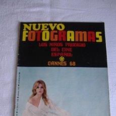 Cine: NUEVO FOTOGRAMAS Nº 1023, MAYO 1968, PORT. JANE FONDA. Lote 26158783