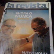 Cine: REVISTA 'ONO', Nº 115. NOVIEMBRE 2008. JACK NICHOLSON Y MORGAN FREEMAN EN PORTADA.. Lote 25507827