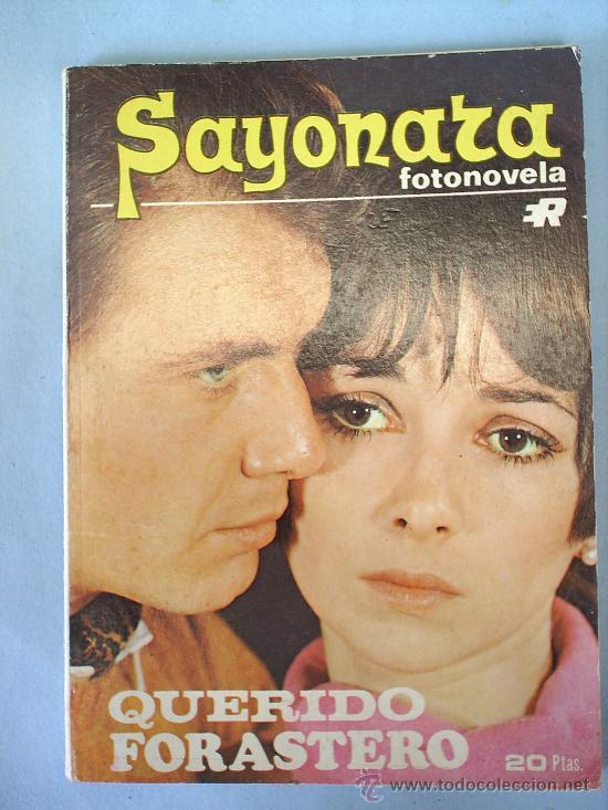 FOTONOVELA SAYONARA -N.9 QUERIDO FORASTERO 1972 EDITORIAL ROLLAN (Cine - Revistas - Otros)