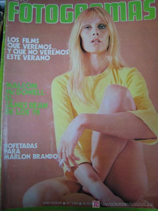 REVISTA FOTOGRAMAS Nº 1289 - MARLON BRANDO (Cine - Revistas - Fotogramas)