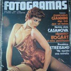 Cine: REVISTA FOTOGRAMAS Nº 1475 - BARBRA STREISAND - ROSA VALENTI. Lote 19349422