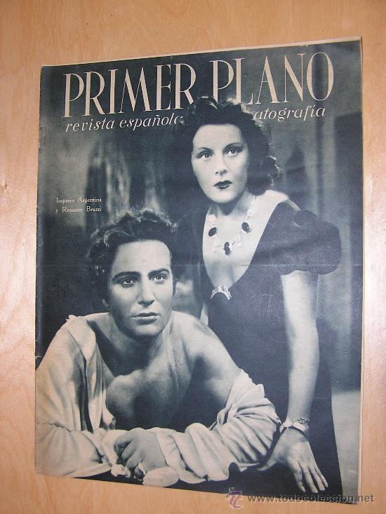 REVISTA PRIMER PLANO. IMPERIO ARGENTINA. CONTRAPORTADA MARLENE DIETRICH LOLA FLORES 1943 (Cine - Revistas - Primer plano)