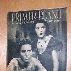 Cine: REVISTA PRIMER PLANO. IMPERIO ARGENTINA. CONTRAPORTADA MARLENE DIETRICH. Lote 198776402